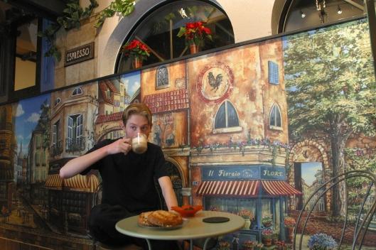 Espresso Buono Garden Cafe - Lynnwood, WA USA